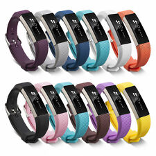 Silicone Wrist Strap Bracelet Replacement Band for Fitbit Alta  L Size Watch