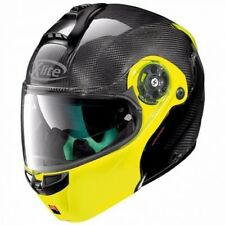 Casque X-LITE X-1004 Ultra Carbon Dyad N-Com Fluo Yellow Chin Guard 4