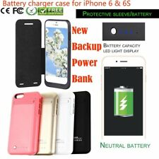 Power Bank Portable Battery Backup Pack Charger Case Cover for iPhone 6 & iPhoFA