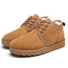 Classic Men Winter Boots - Ankle Snow Boots