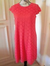 NEW QVC Ronni Nicole Dress in Coral UK Size 10