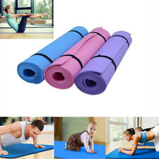 Non-slip 6-10mm Yoga Mat Durable Thick Exercise Pad Health Lose Weight Fitness