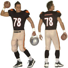 American Football Player Broncos Superbowl Stag Fancy Dress USA Touchdown
