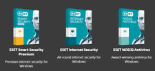 GENUINE ESET 2018 INTERNET SMART SECURITY NOD 32 ANTIVIRUS MULTI DEVICE SECURITY