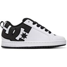 Dc Court Graffik Se Mens Footwear Shoe - Black White All Sizes