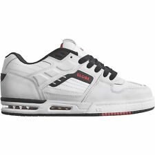 Globe Fury Homme Chaussures Chaussure - White Black Red Toutes Tailles