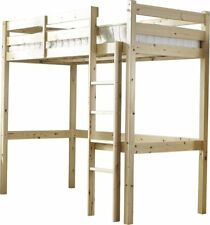 NEW Wooden Kids Bed Frames Chester High Sleeper Bed Wood Beds With Storage Sleep