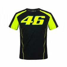 T-SHIRT MOTOGP 2018 VALENTINO ROSSI THE DOCTOR 46 BLACK YELLOW MAN