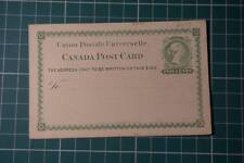Canada Early Unused Postal Stationary Letter cards choose from list