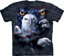 The Mountain Maglietta Patriotic Moon Eyes Adulto Unisex