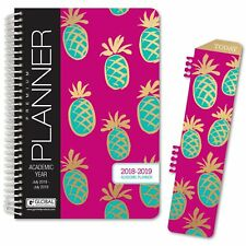 HARDCOVER Academic Year Planner 2018-2019 (Pineapples)