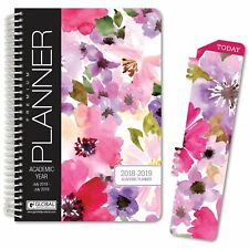 HARDCOVER Academic Year Planner 2018-2019 (Floral)