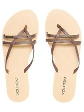 Chanclas mujer Volcom Lookout 2 Marron