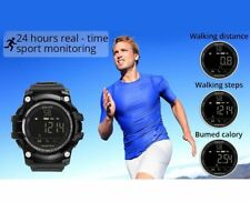 Reloj Inteligente Bluetooth 4.0 Impermeable Monitor de Deporte para Android iOS
