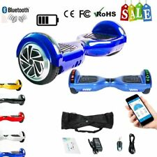 """6.5"""" Eléctricos Patinete Scooter LED E-Balance Skateboard Hoverboard KART XF"""