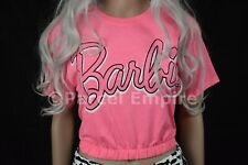 Official BARBIE Pink PYJAMAS Set T-Shirt Pants PJ Pajamas Legging Ken doll house