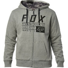 Fox Racing Compliance Saquatch Homme Sweat à Capuche Avec Fermeture Éclair -