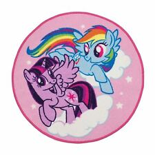 Childrens My Little Pony Equestria Rug Mat Kids Fancy Playroom Bedroom Accessory