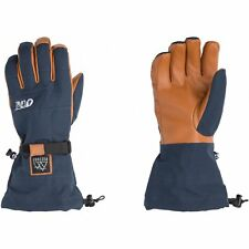 Picture Organic Grumbler Mens Gloves Ski - Dark Blue All Sizes