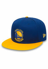 New Era Nba Team 9Fifty Berretto da baseball D'ORO STATO Warriors Blu Giallo