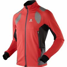 X-bionic Ski Touring Spherewind Light Homme Veste Blouson De - Red Black