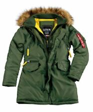 Alpha Industries PPS N3B WMN verde scuro NUOVO 133003 Autunno/inverno 2018/2019