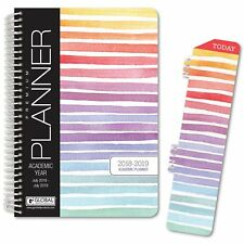 HARDCOVER Academic Year Planner 2018-2019 (Stripes)