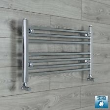 Central Heating Chrome Towel Rail Rad Bathroom Radiator 750mm (w) x 400mm (h)