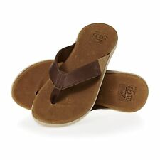 Reef Cushion Jbay Homme Chaussures Tongs - Brown/brown Toutes Tailles