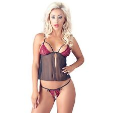 Intimo sexy donna Babydoll red Lace