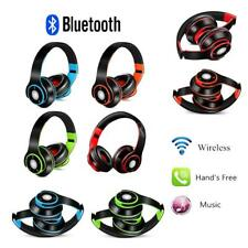 4 in 1 Over-Ear Wireless Bluetooth Headset Foldable Stereo Music Headphone Mic