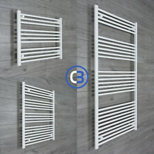 Towel Rail Rad Central Heating Bathroom Radiator White 800mm Wide x High Sizes
