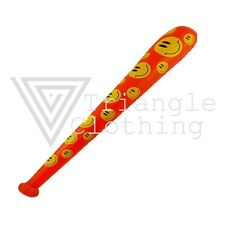 Inflatable Baseball Bat Red Yellow Smiley Face Suicide Squad Harley Quinn