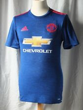 New Authentic Adidas Manchester United 2016/17 Away Shirt ADIZERO PLAYER ISSUE S