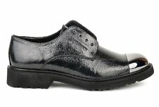 Cult Scarpe Slip On Rose Low Donna CLE103178 LAME LEATHER BLACK Autunno Inv