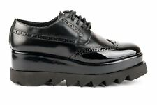 Cult Scarpe Derby Alice Low Donna CLE103294 BRUSH LTH-VEG. PATENT BLACK Autunno