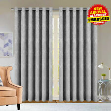 Pink Thermal Blackout Ring Top/Pencil Pleat Curtains 90 x 90, 66 x 72 Or 66 x 54