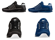 K Swiss Mens Trainer Rinzler Lace Up Designer Low-Top Sneakers Blue White 6 - 12
