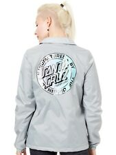Chaqueta mujer Santa Cruz MFG Fade Coach Light Gris