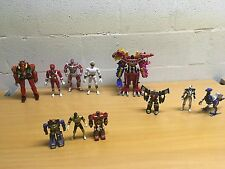 "POWER RANGERS MEGAZORD ZEO MIGHTY MORPHIN 8"" BUNDLE FIGURES YOU CHOOSE"