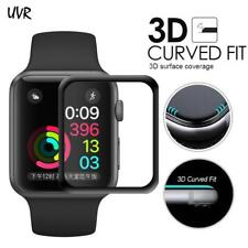 iWatch Plating Tempered Glass For Apple Watch 38mm 42mm Series 2 1 Full Cover 3D