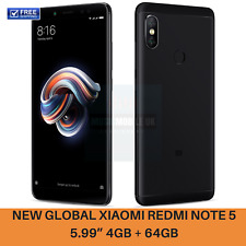 "Global Xiaomi Redmi Note 5 5.99"" Snapdragon 636 Octa Core Dual Cameras 4G Black"