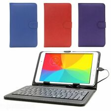 Cuir Pu Clavier Housse Etui avec Support pour Acer Iconia B1-7A0 7 ""