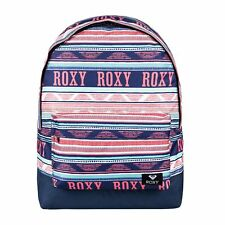 Roxy Sugar Baby Womens Rucksack - Bright White Boheme Border One Size
