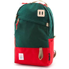 Topo Designs Daypack Unisexe Sac à Dos - Forest Red Une Taille