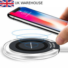 Fast Qi Wireless Charger Charging Dock Pad For Samsung, Galaxy Apple iPhone X 5W