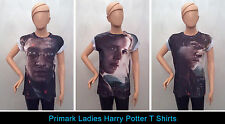 Primark Oficial Mujer Harry Potter Héroe Camiseta Hermione, Ron, Harry