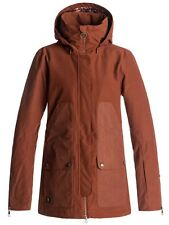 Chaqueta snow para mujer DC Panoramic Burnt Henna