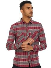Camisa de manga larga Quiksilver River Back Flannel Pomegranate