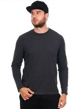 Camiseta de manda larga Element Basic Crew Gris Heather